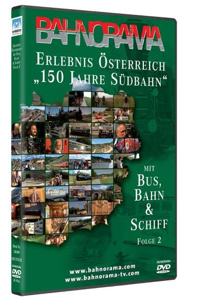 Erlebnis Österreich mit Bahn & Schiff Folge 2 | DVD