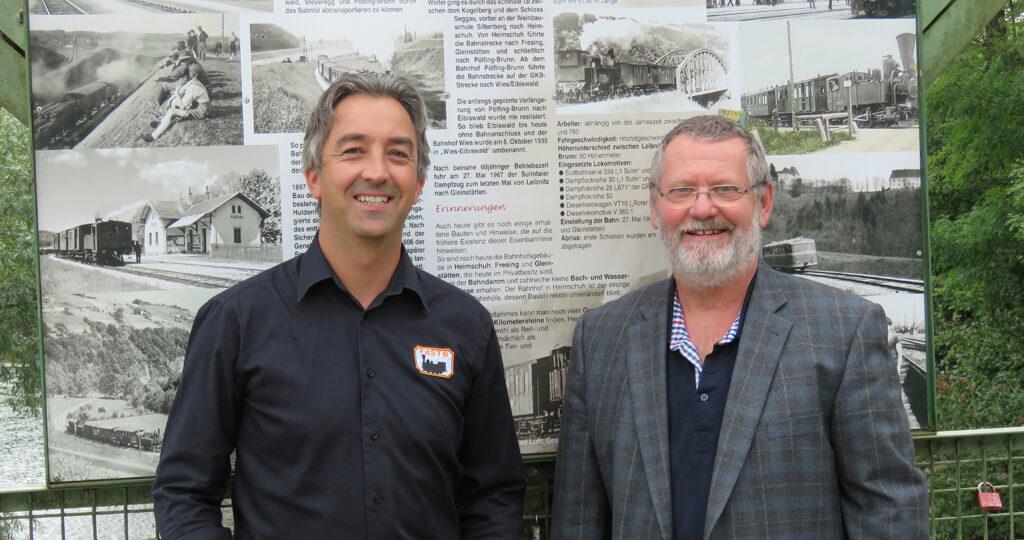 Dietmar Zweidick und Heinz Holik
