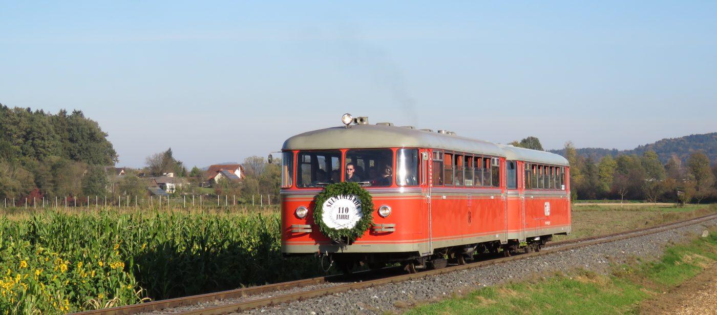 IMG 4032 110Jahre Sulmtalbahn 1400x615 - Auf den historischen Gleisen der Sulmtalbahn