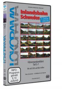 Inlandsbahn Schweden Teil 5-7 | DVD