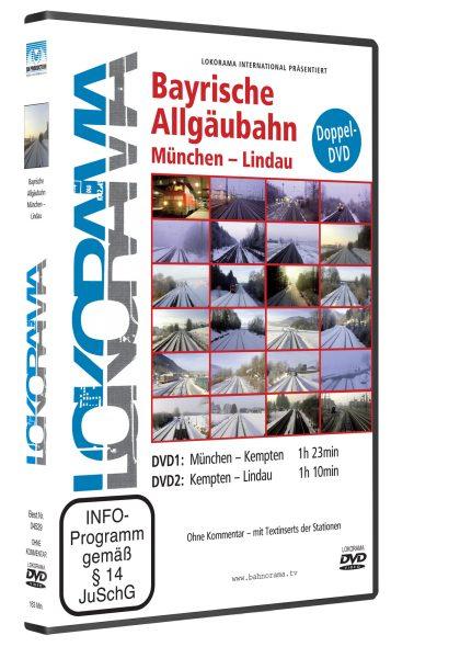 Bayrische Allgäubahn, München – Lindau | DVD