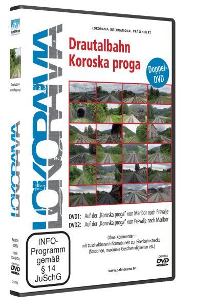 "Maribor – Prevalje – Maribor auf der Drautalbahn ""Koroska proga"" | DVD"