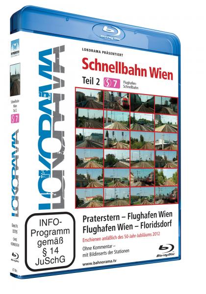 Schnellbahn Wien Teil 2 S7, Praterstern – Flughafen Wien – Floridsdorf | Blu-ray