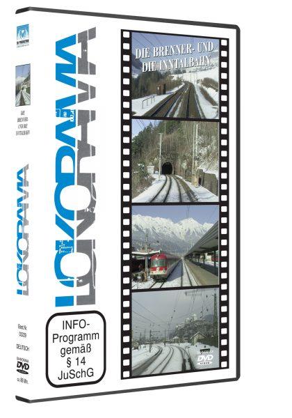 Brenner- und Inntalbahn   DVD