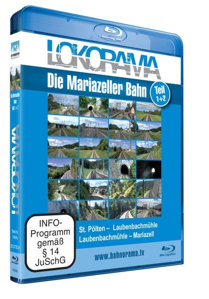 Mariazellerbahn 2014 Teil 1+2   Blu-ray