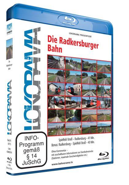 Radkersburger Bahn   Blu-ray