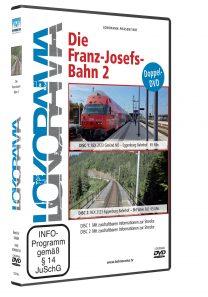 LR Spezial Franz Josefs Bahn2 DVD HGrot 208x297 - Franz-Josefs-Bahn 2 | DVD