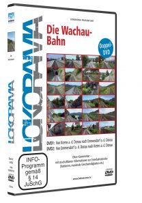 LR Wachaubahn DVD HGrot 208x297 - Wachaubahn | DVD