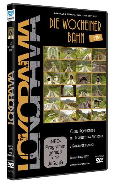 Wocheinerbahn 2 Kameraperspektiven | DVD