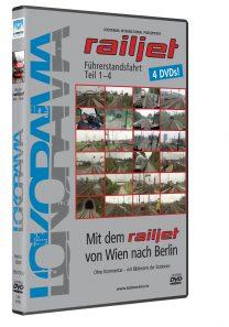 Mit dem railjet von Wien nach Berlin Teil 1-4, Wien-Nürnberg