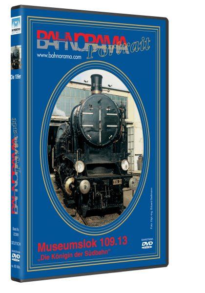 ÖBB Rh 109.13 Dampflokporträt | DVD