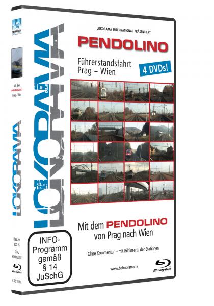 Pendolino Prag-Wien | 4er Bluray