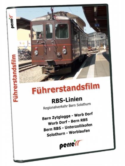 RBS Linien – Regionalverkehr Bern Solothurn; von Andreas Perren | DVD