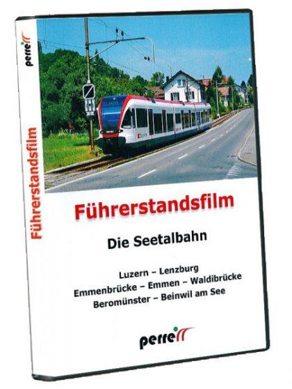 Perrer Die Seetalbahn HGrot 420x558 - Seetalbahn; von Andreas Perren | DVD