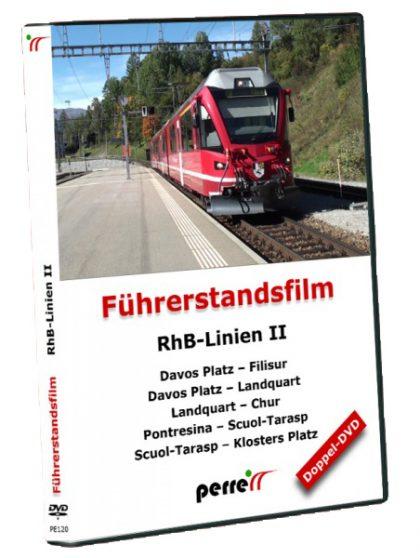 RhB-Linien II; von Andreas Perren   DVD