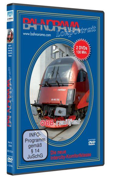 Railjet –  Die neue Intercity-Komfortklasse
