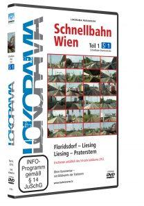 Schnellbahn Wien Teil 1 S1, Floridsdorf – Liesing – Praterstern | DVD