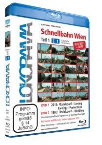 Schnellbahn Wien Teil 1 S1 + Floridsdorf-Meidling 1985 | Blu-ray + DVD