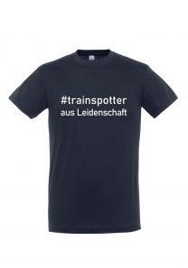 #trainspotter aus Leidenschaft | T-Shirt