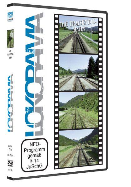 Traisetalbahn 3D rot 420x600 - Traisentalbahn   DVD