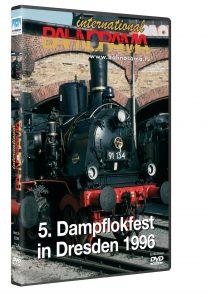 5. Dampflokfest in Dresden 1996 | DVD