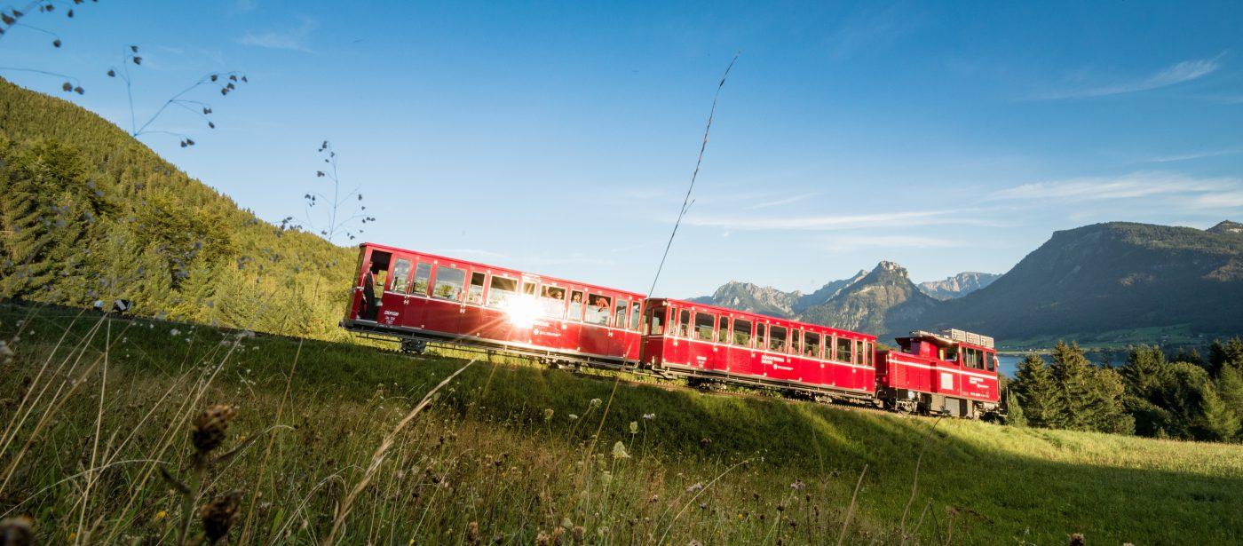 schafbergbahn 1400x615 - 1.190 Höhenmeter in 35 Minuten
