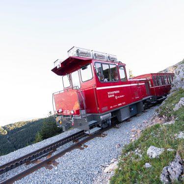 schafbergbahn 5 375x375 - 1.190 Höhenmeter in 35 Minuten