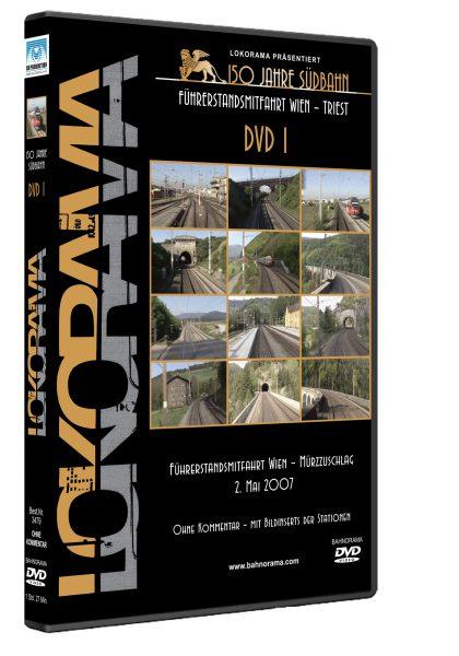 Südbahn Wien – Triest, Teil 1 | DVD